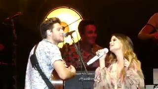 Niall Horan & Maren Morris - Seeing Blind (West Palm - Last Night of Flicker Tour)