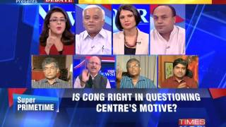 The Newshour Debate: Row over live telecast of RSS chief's address by DD – Part 1 (3rd Oct 2014)