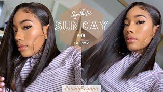 Synthetic Sunday | Chocolate Bob W/ Caramel Highlights: GLS122 | FNH X LovelyBryana