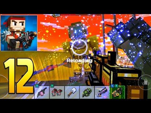 Pixel Gun 3D - Gameplay Walkthrough Part 12 - first Raid