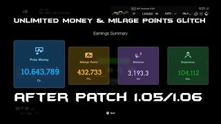 GT Sport: UNLIMITED MONEY & MILAGE POINTS GLITCH   AFTER 1.05/1.06