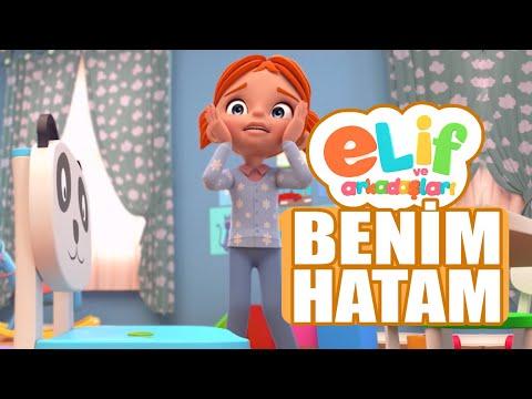 Elif ve Arkadaşları  - Bölüm 10 - Benim Hatam - TRT Çocuk Çizgi Film