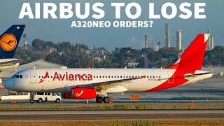 AIRBUS Could LOSE A320neo Orders