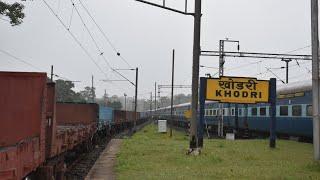 KOLKATA TO AMARKANTAK | RAIL-O-VLOGGING | TRAIN JOURNEY | SHALIMAR KURLA EXPRESS & BILASPUR-INDORE
