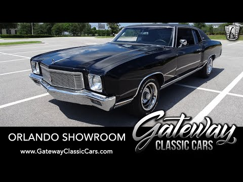 1971 Chevrolet Monte Carlo (CC-1354852) for sale in O'Fallon, Illinois
