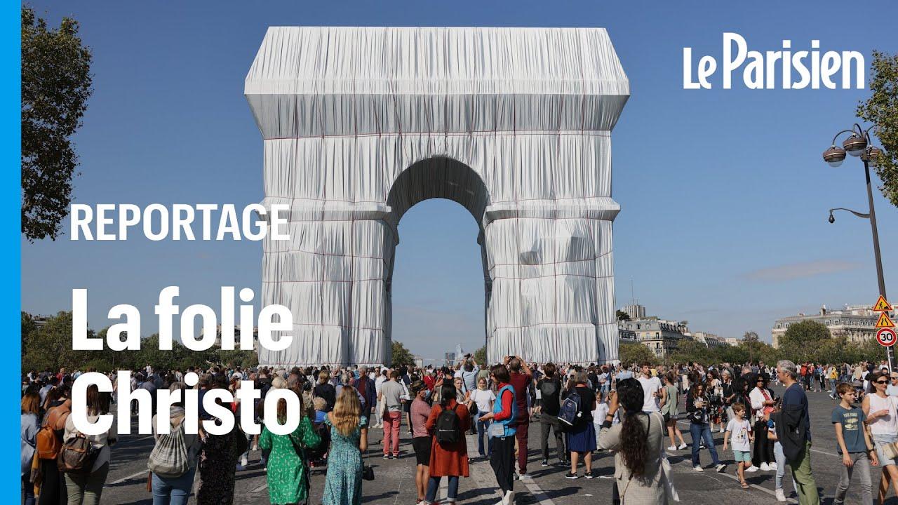 «Exceptionnel» et «émouvant» : l'Arc de Triomphe empaqueté de Cristo séduit les foules