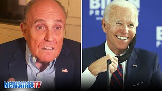 NEWSMAX TV: This Was MAJOR ELECTION FRAUD By The Democrats | Rudy Giuliani