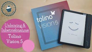 behind the scenes   Story   Unboxing & erste Inbetriebnahme TOLINO Vision 5    eReader   mommymade
