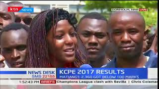Rockfield Academy, Donholm students held shoulder high as they celebrate KCPE results