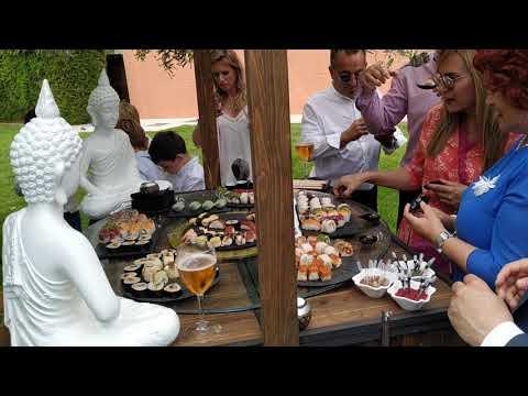 Triciclo Sushi - Catering Recio's Show Cooking Málaga
