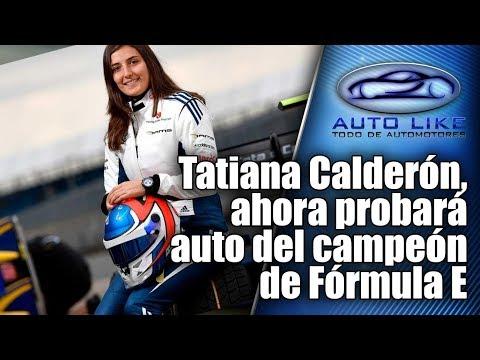 Tatiana Calderon, ahora probara auto del campeon de Formula E