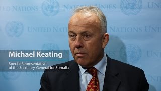 Despite terrible drought in Somalia, there is a sense of optimism says UN envoy Michael Keating