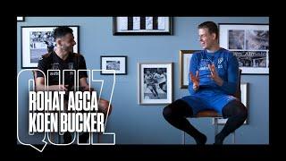 Heracles TV QUIZ ? | Rohat Agca en Koen Bucker
