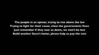 MC G-SINGH - Can't Tear Me Down - www.SaveGurudwara.com