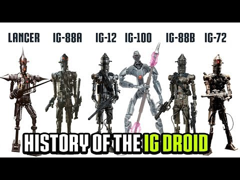 What made the IG Series Droids the Deadliest in the Galaxy