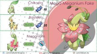Pokémon - Mega Evoluciones Segunda Generación (FANART y OFICIALES)