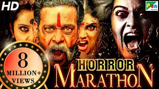 Horror Movies Marathon | South Hindi Dubbed Movies 2020 | Pottu Ek Tantra, Maya Mall Bhoot Ka Khel