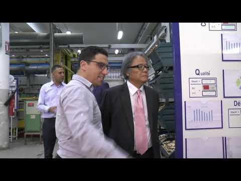 Visite du Professeur japonais KOZO SAKANO à la SOPAL