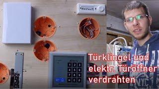 Türklingel und RFID Türöffner verdrahten