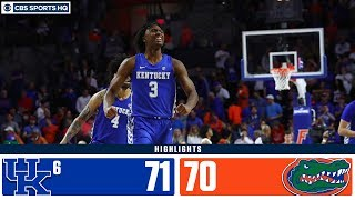 No. 6 Kentucky Completes 18-point Comeback Against Florida | Highlights & Recap | CBS Sports HQ
