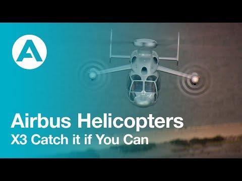 Monster Machines: Airbus' X3 Prototype Uses Three Rotors To Break Airspeed Records
