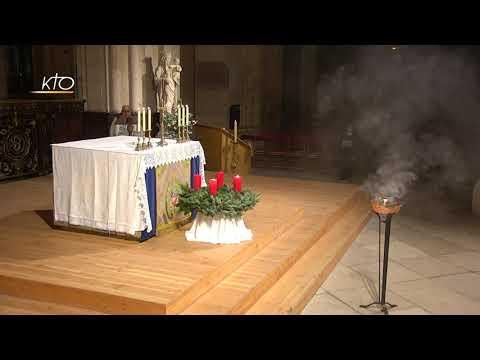 Vêpres du 7 décembre 2020 à Saint-Germain-l'Auxerrois