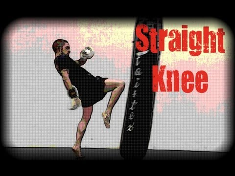 Muay Thai - How to Throw a Straight Knee