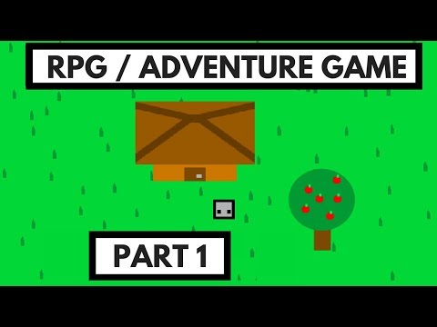 Scratch Tutorial: How to Make a RPG/Adventure Game (Part 1)
