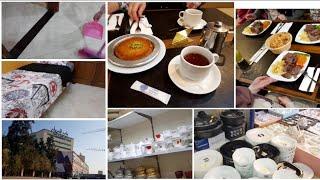 روتين يوم امس تلاقيت مع خياتي جولة في سوق الجرف واش شرينا كلينا في مطعم تركي والاسعار كانت😱😱