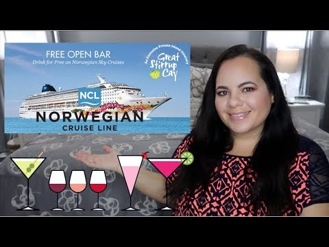 Norwegian Sky Review | OPEN BAR | THESASSYMOM82