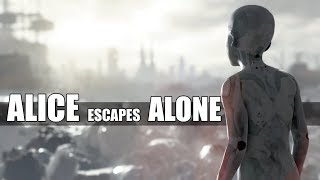 """Detroit Become Human - """"Did You Know That"""" Alice Could Escape The Recycling Center Alone?"""