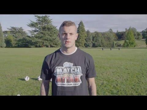 Jack Wilshere sút 3 trái bóng vào thùng rác như Beckham