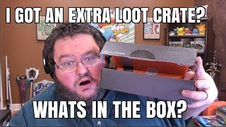A BONUS LOOT CRATE BOX? MAY 2017 LOOT CRATE UNBOXING - GUARDIANS!