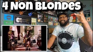 4 Non Blonde Girls - What's Up | REACTION