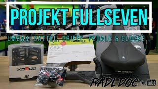 Projekt FullSeven / Ergon GS2, Selle Royal Scientia, Xpedo Jek und Mounty Billy Plus