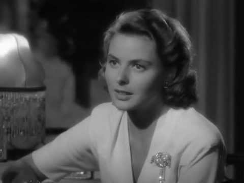 Casablanca (1942): Play it Sam, Play As Time Goes By. Ingrid Bergman, Humphrey Bogart, Sinatra sings