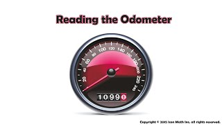 Reading the Odometer (Rounding Large Whole Numbers to the Nearest Ten with a Carry)