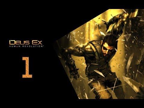 Deus Ex Human Revolution Прохождение Часть 1