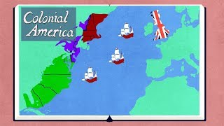 The History of Colonial America