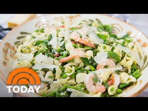 Perfect Spring Pasta Salad With Shrimp And Homemade Vinaigrette | TODAY
