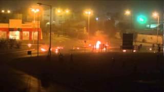 preview picture of video 'ثورة البحرين : عملية ( نيران الغضب ) سترة 25/5/2012'
