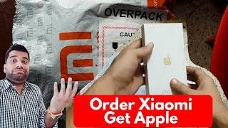 Order Xiaomi Get Apple   Online Scam/Mistake??