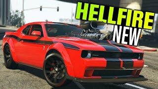 GTA 5 Online - NEW Gauntlet Hellfire Customization (Diamond Casino)