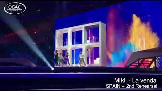 SPAIN 2019 - Miki - La Venda - 2nd Rehearsal