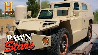 Pawn Stars: HIGH PRICE FOR ONE-OF-A-KIND MILITARY PROTOTYPE (Season 8) | History