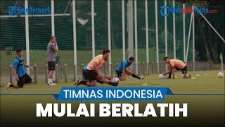 Intip Latihan Timnas Indonesia U-23 Jelang Sea Games 2021, 31 pemain Ikuti Latihan