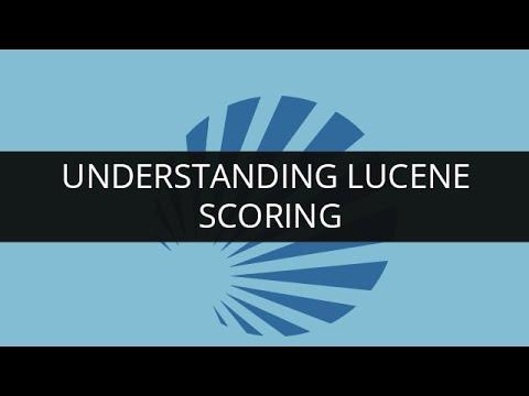 Understanding Lucene Scoring | Apache  Lucene - Scoring | Edureka