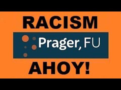 Prager, FU - Recognise your black privilege?