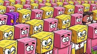 Minecraft   Who Is the REAL Spongebob - Morph Hide and Seek! (Spongebob in Bikini Bottom)
