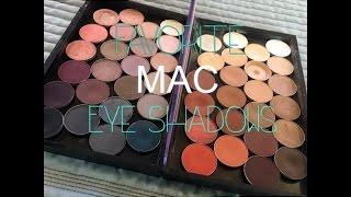 My Favorite MAC Eyeshadows